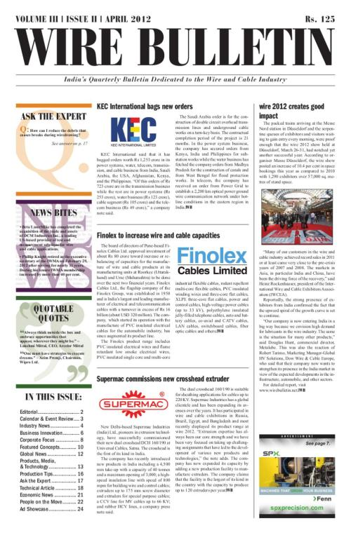 small resolution of wire bulletin apr 12