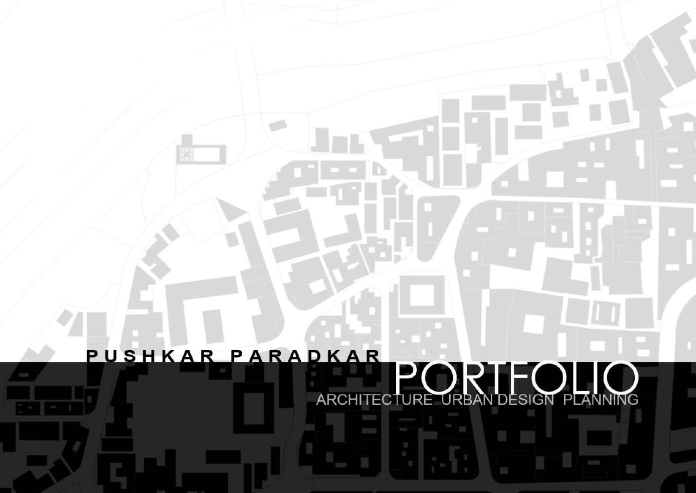 Architecture Urban Design Urban Planning Portfolio By