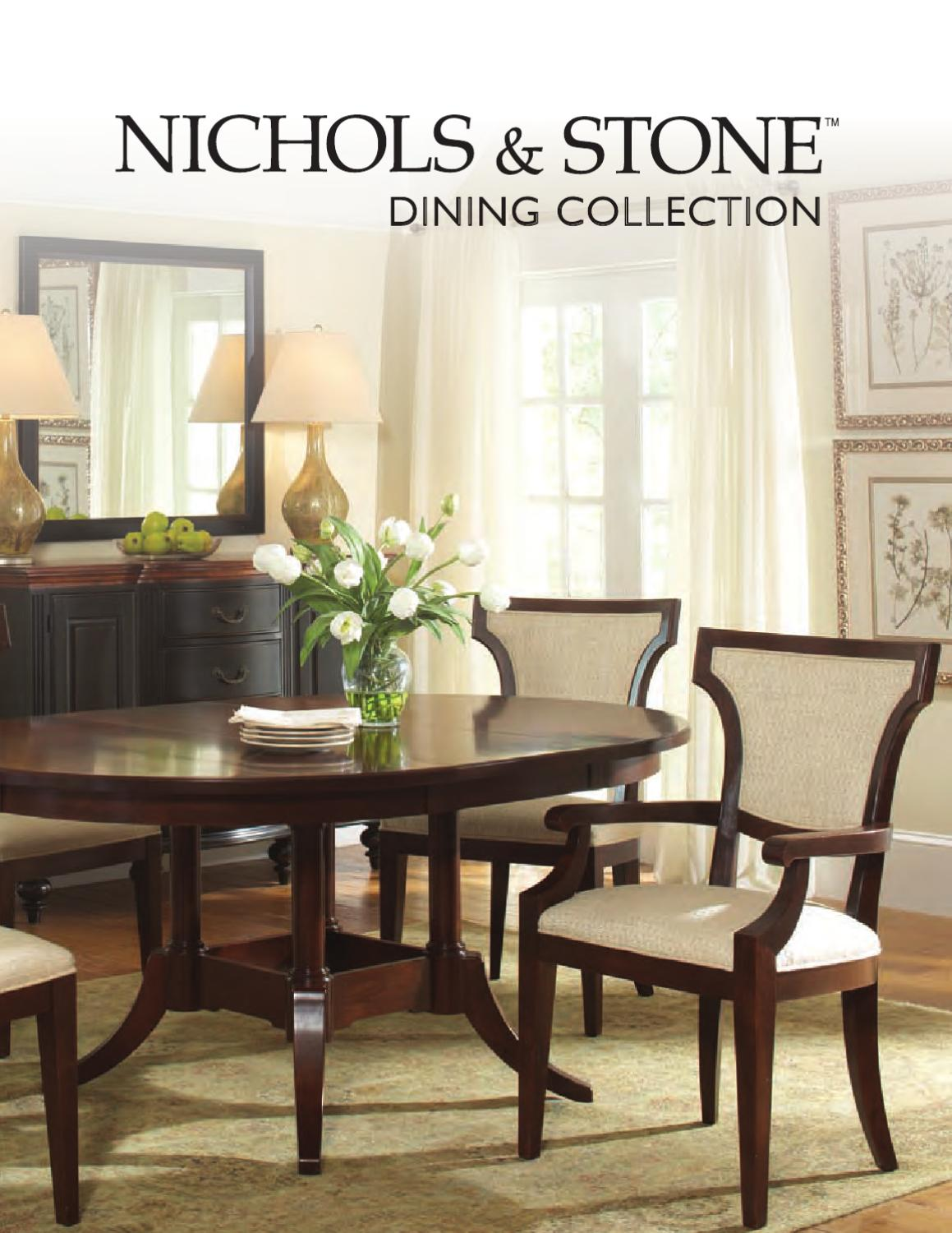 Dining Collection By Nichols Amp Stone By Stickley Issuu