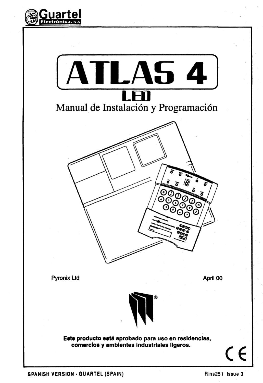 Manual de instalación y programación ATLAS 4 by Carlos