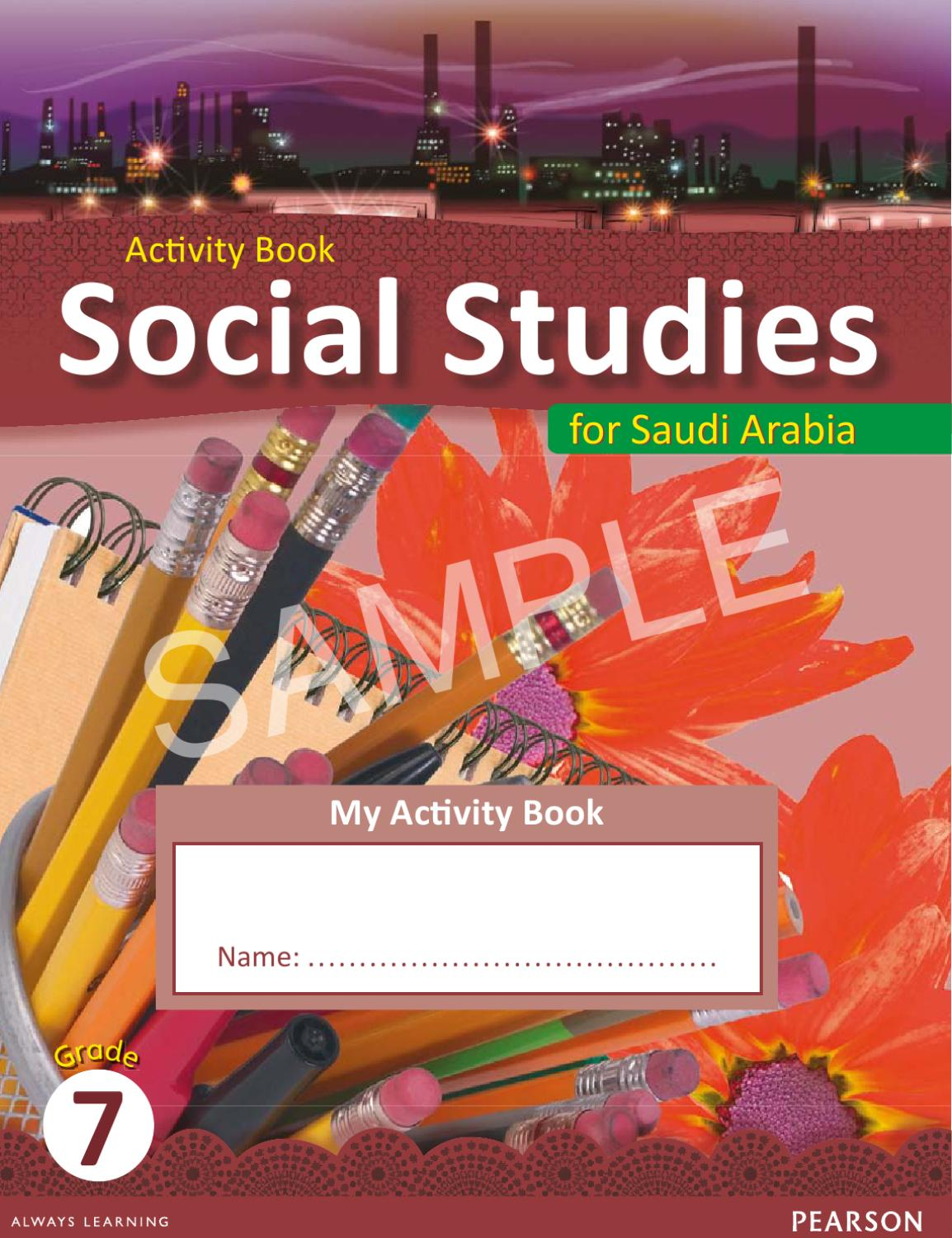 hight resolution of Saudi Social Studies Grade 7 Activity Book 1 SAMPLE by Pearson Middle East  - issuu