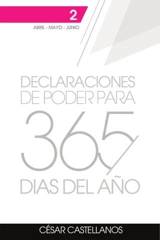 Declaraciones de poder para 365 dias del año Tomo 2 by