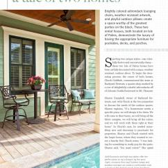 Isle Of Palms Beach Chair Company Outdoor Metal Mesh Folding Chairs Charleston Home 43 Design Magazine Summer 2012 By