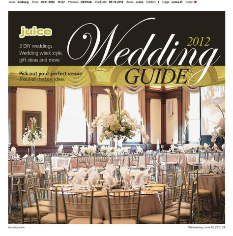 Juice 2012 Wedding Guide  June By Des Moines Register  Issuu