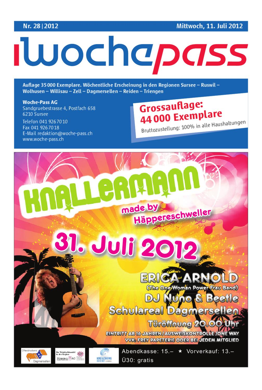 Woche-Pass   Kw28   11. Juli 2012 By Woche-Pass Ag - Issuu