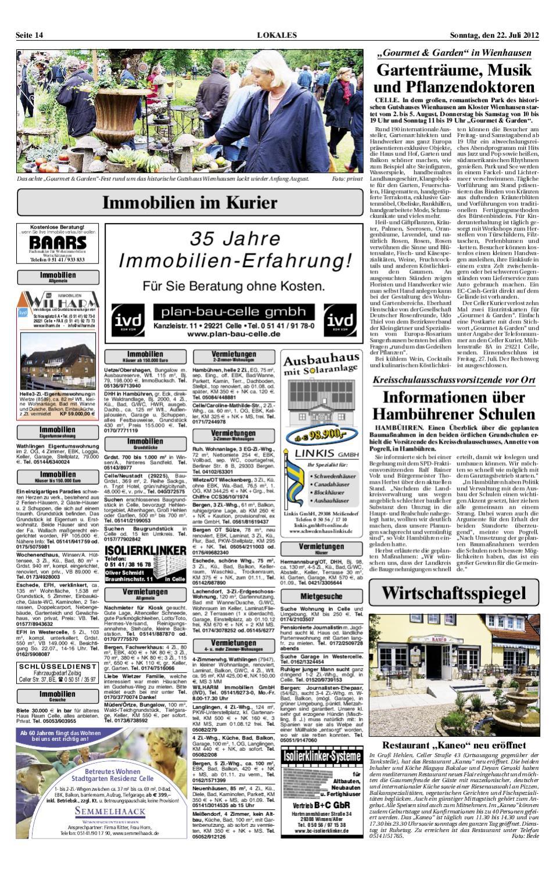 Cks_22.07.2012 By Verlag Lokalpresse Gmbh - Issuu