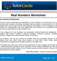 Real Numbers Worksheet by circle team - issuu [ 1500 x 1500 Pixel ]