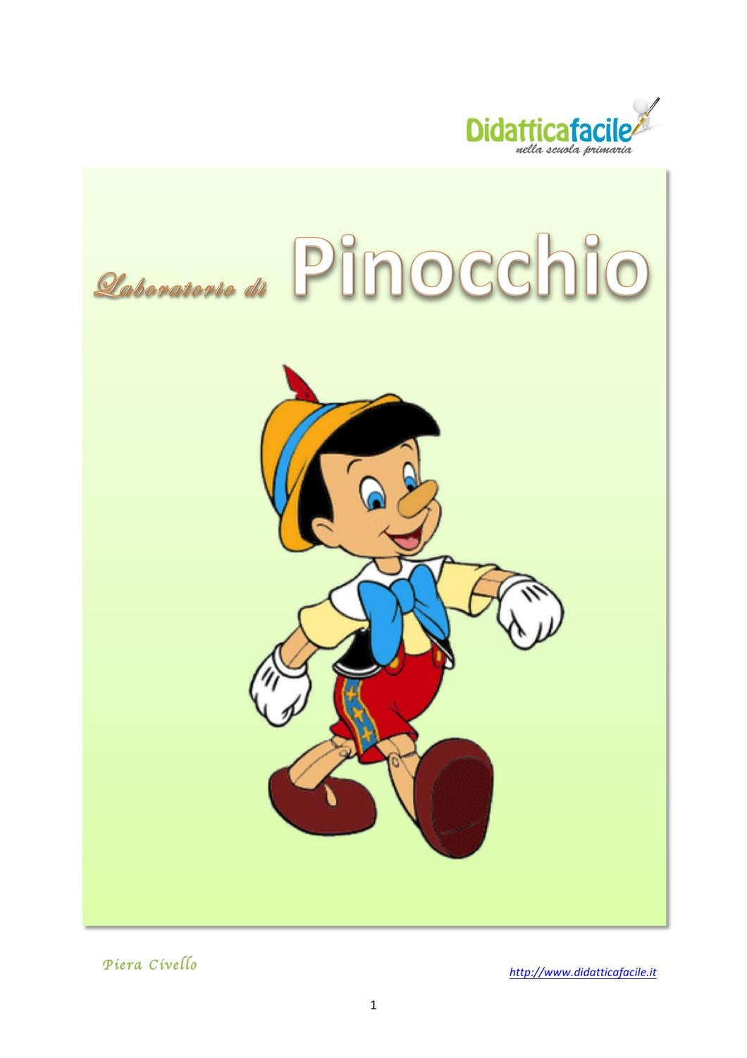 Laboratorio di pinocchio by piera civello