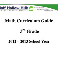 Math 3 Curriculum Guide 12-13 by Half Hollow Hills Schools - issuu [ 1159 x 1499 Pixel ]
