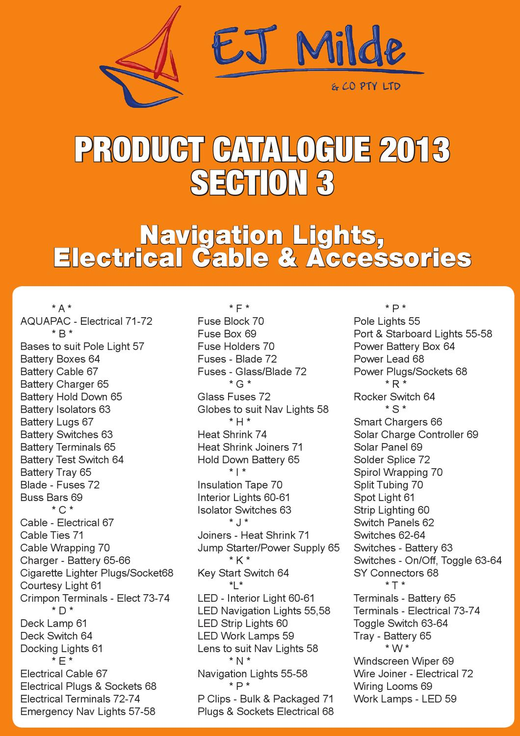 hight resolution of ej milde product catalogue 2013 section 3 by ej milde co pty ltd issuu