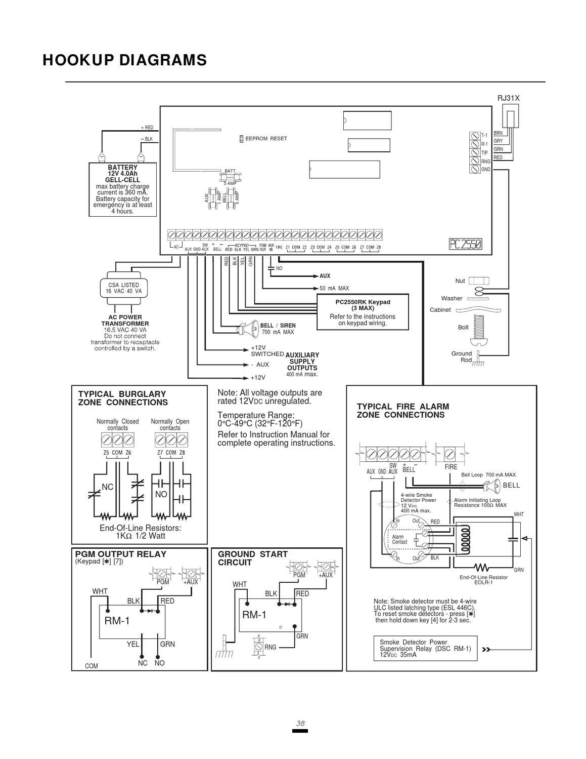 dsc keypad wiring diagram a sentence easy steps pc2550 v1 3 im eng 29000592 r2 by sertek servicios