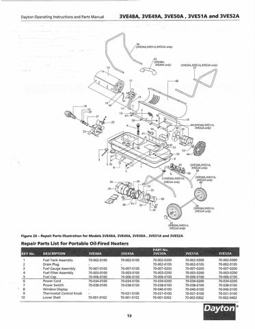 Oil Fired Heaters Electric Heaters Wiring Diagram ~ Odicis