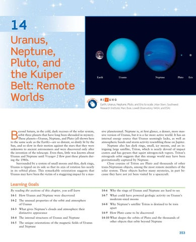 Uranus Neptune Pluto And The Kuiper Belt By Wendy Owen Issuu