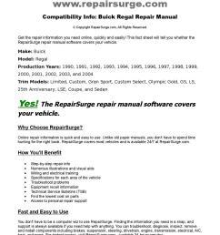 buick regal online repair manual for 1990 1991 1992 1993 1994 1995 1996 1997 1998 1999 200 by repairsurge issuu [ 1108 x 1500 Pixel ]