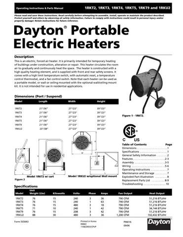 Dayton Fan Wiring Diagram Backup Generator Wiring Diagram