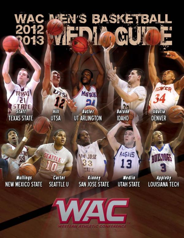 384976da470 2012-13 Georgetown Men' Basketball Media Guide · WAC Conference Athletics