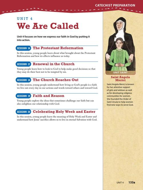 small resolution of Finding God 2013 Grade 8 Parish Catechist Guide   PART 3 by Loyola Press -  issuu