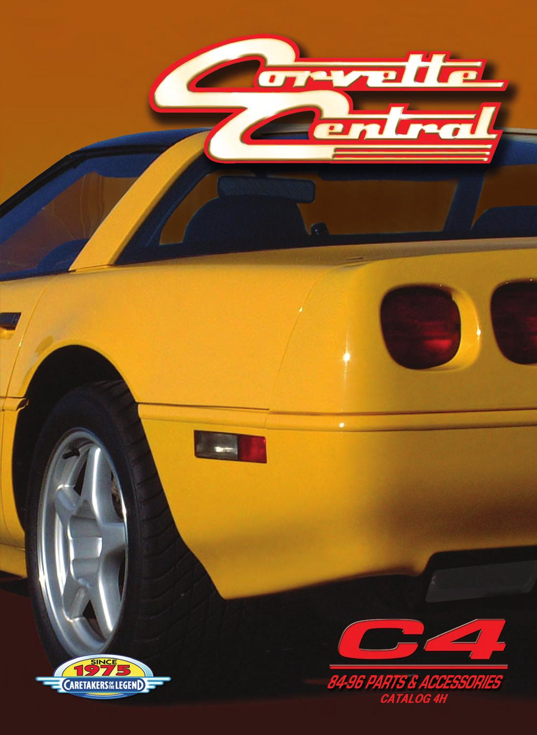 hight resolution of corvette central c4 84 96 corvette parts catalog by corvette central issuu