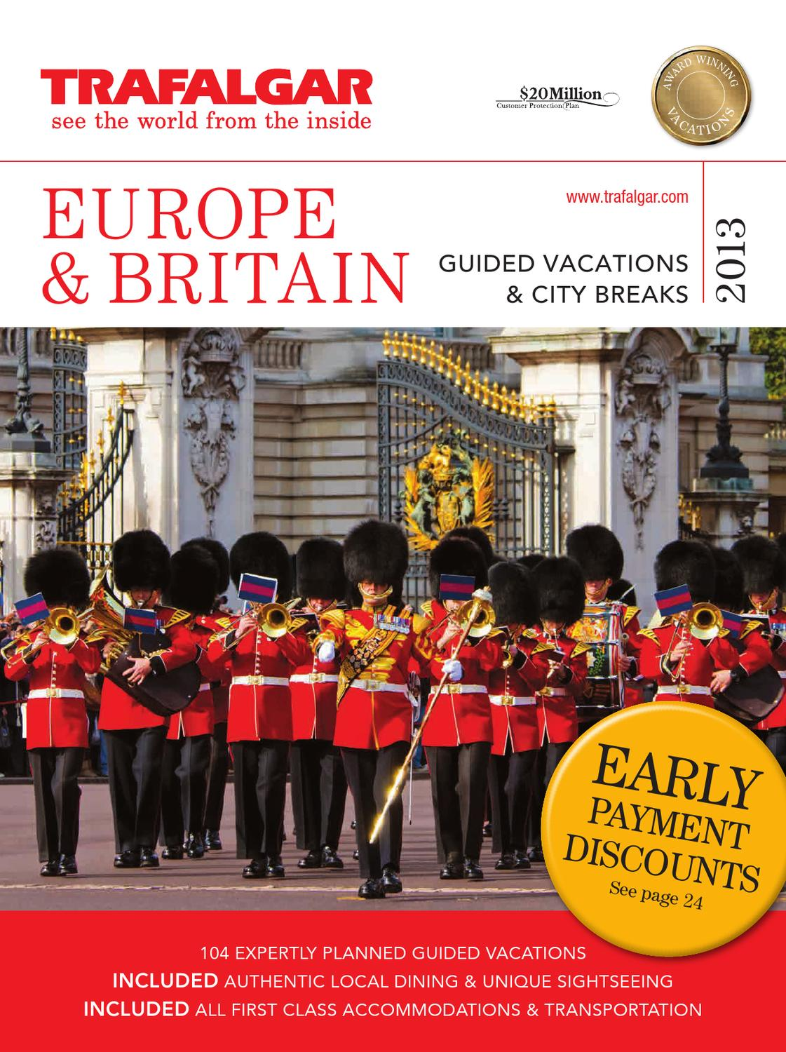Trafalgar Tours Europe By Paul Bodin Issuu