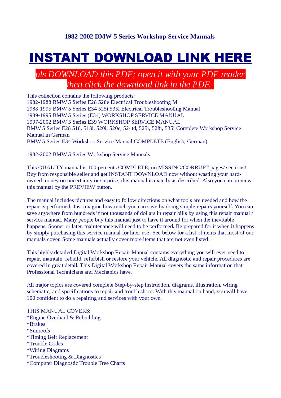hight resolution of bmw 1989 525i wire diagram pdf