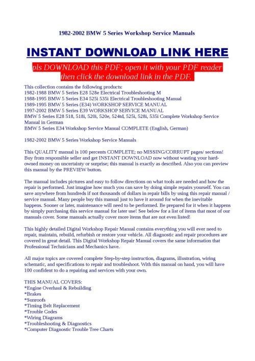 small resolution of bmw 1989 525i wire diagram pdf