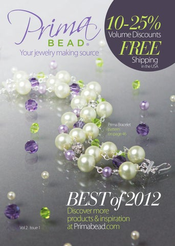 Free Bead Catalogs By Mail : catalogs, Prima, Catalog, Issue, Issuu