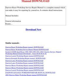 daewoo cielo workshop manual free download [ 1060 x 1500 Pixel ]