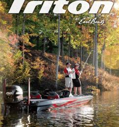 2013 triton boats freshwater catalog by triton boats issuu on [ 1062 x 1500 Pixel ]