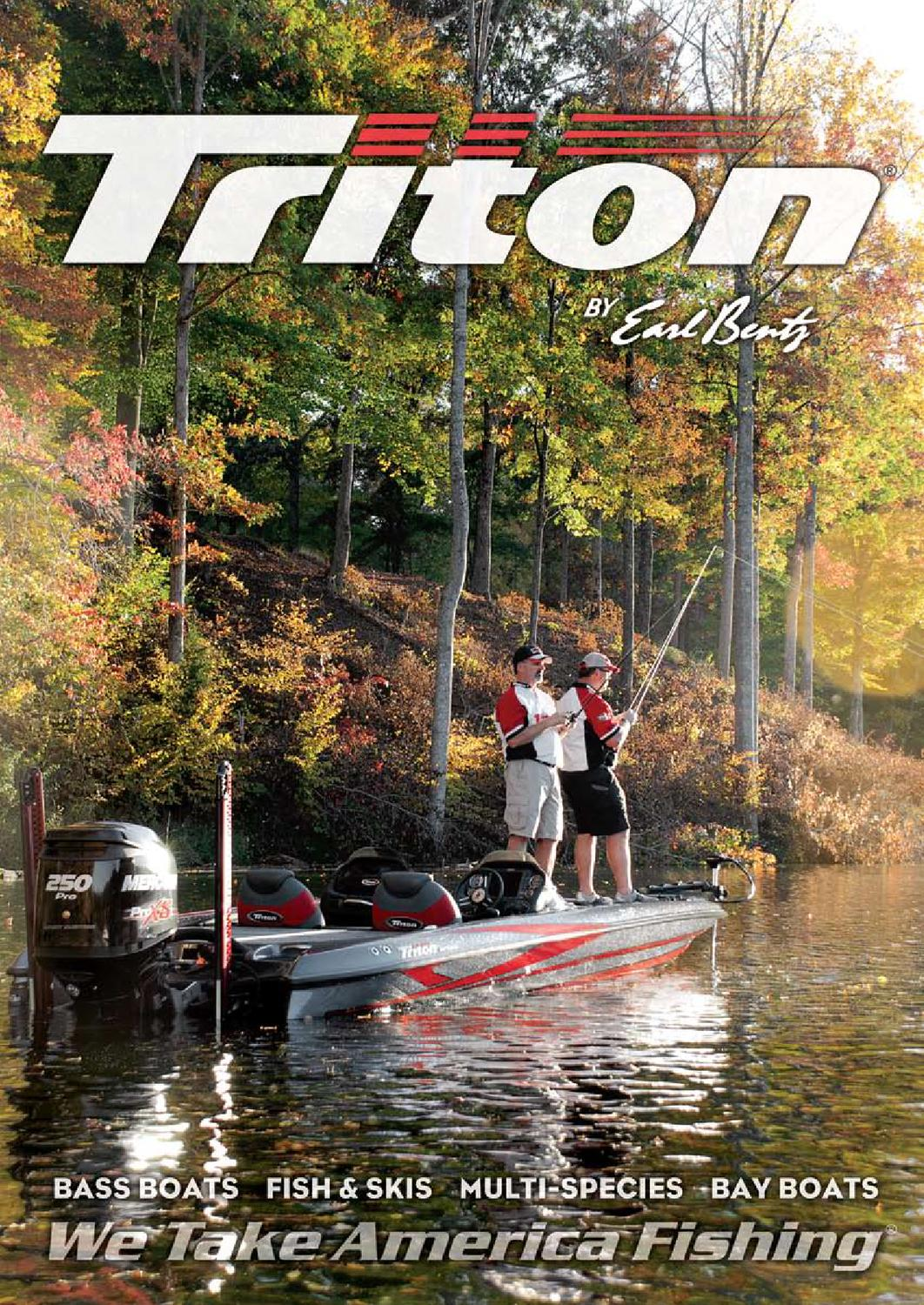 hight resolution of  2013 triton boats freshwater catalog by triton boats issuu on
