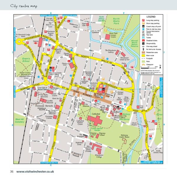 Visit Winchester Visitor Guide 2013 by Communications