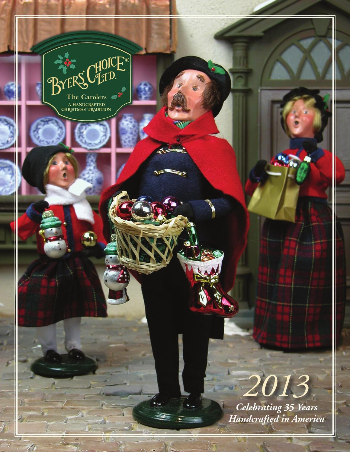 2013 Byers Choice Catalog By Byers Choice Ltd Issuu | Byers Choice Spiral Staircase | Christmas Carolers | Byers Carolers | Choice Carolers | Inches Tall | Rolling Scaffold