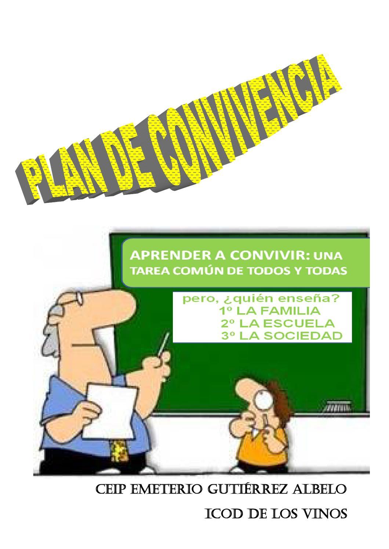 PLAN DE CONVIVENCIA by CEIP EGA Icod de los Vinos  Issuu