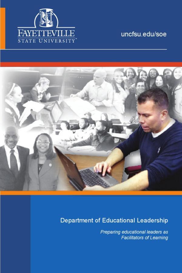 Fsu Department Of Educational Leadership Brochure