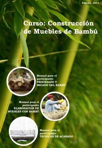 Manual de Construccin de Muebles de Bamb by Omar Caldera