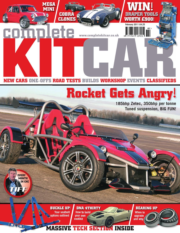 hight resolution of complete kit car magazine february 2011 by performance publishing ltd issuu