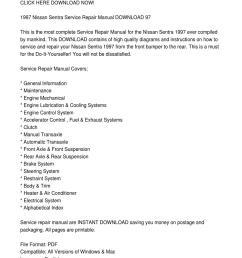 1997 nissan sentra service repair manual download 97 by vadim birch issuu [ 1060 x 1500 Pixel ]