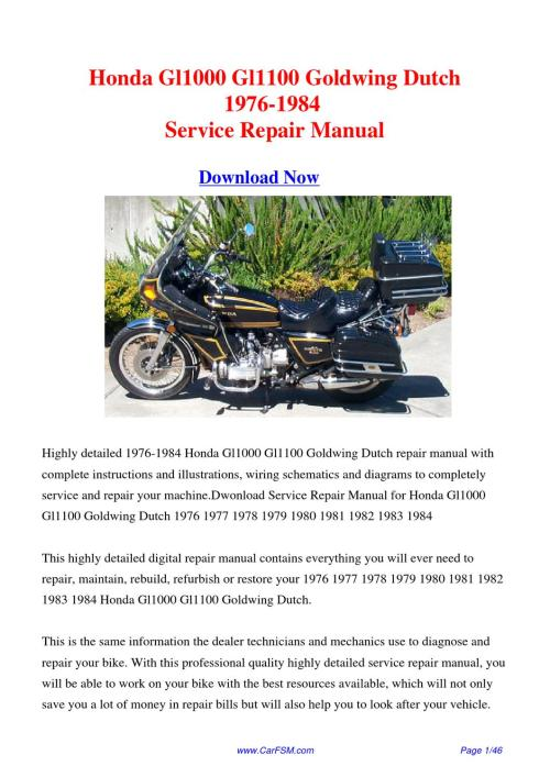 small resolution of gl1500 standard 1980 1983 1980 1983 shipsfully charged due agm design brake master cylinder piston kit chemicals honda vt750c owner 39 s manual