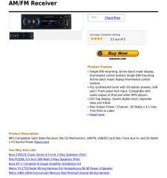 boss 612ua mp3 compatible digital media am fm receiver [ 1060 x 1500 Pixel ]