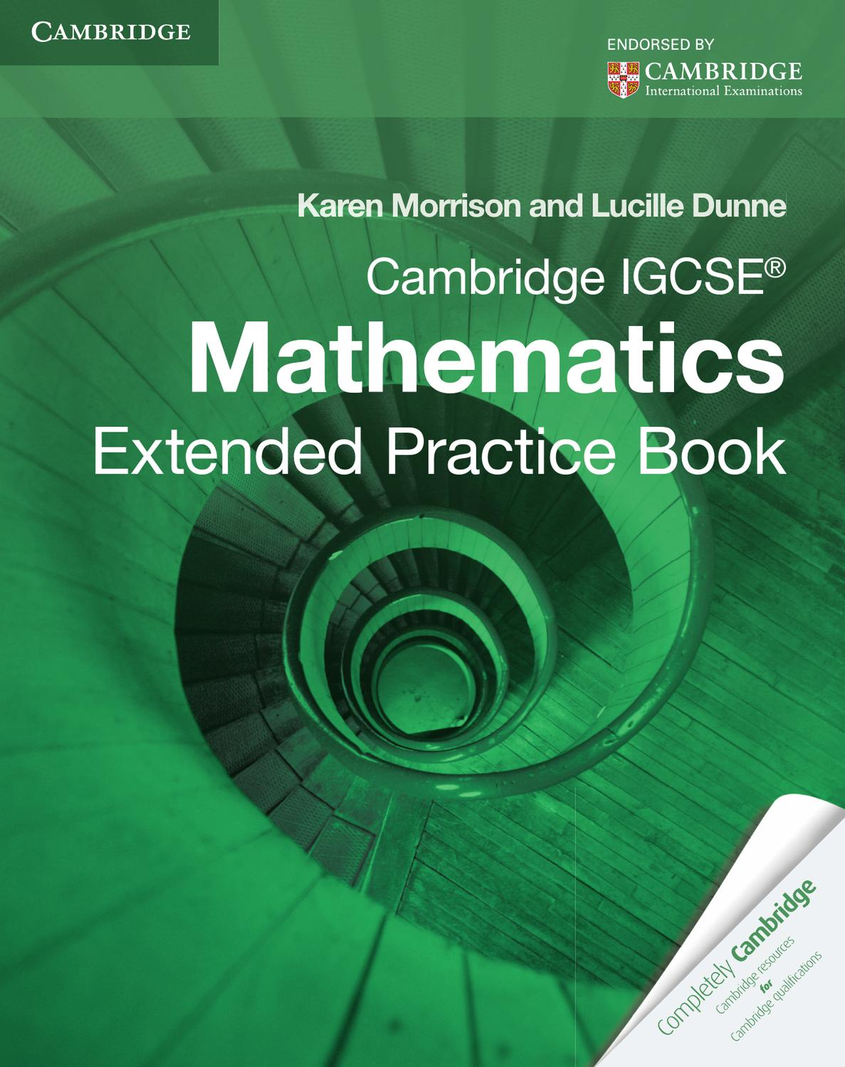 hight resolution of Cambridge IGCSE Mathematics: Extended Practice Book by Cambridge University  Press Education - issuu