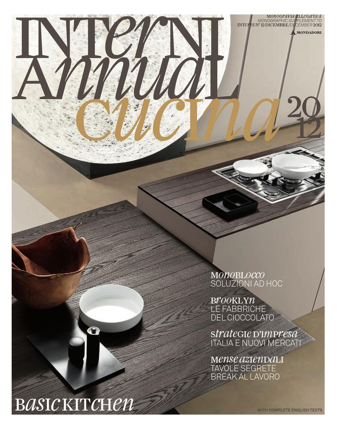 Interni Annual Cucina 2012 By Interni Magazine Issuu