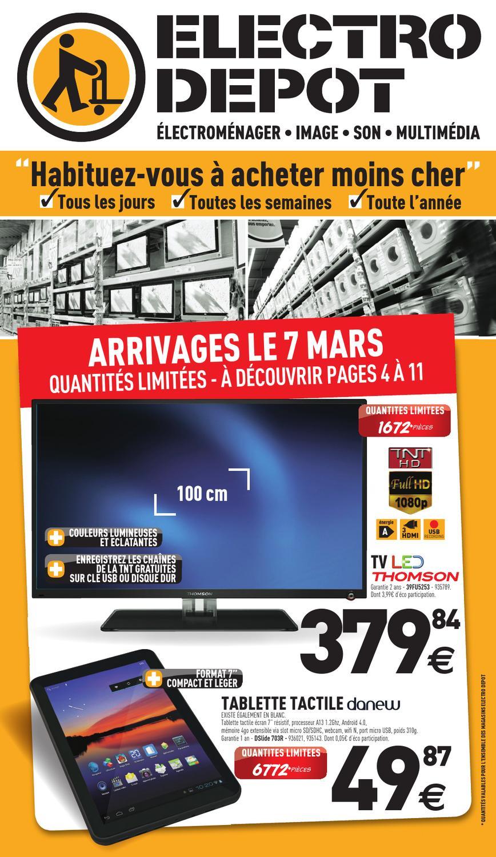 Electro Depot Catalogue 7 31 Mars 2013 By Promocatalogues Com Issuu