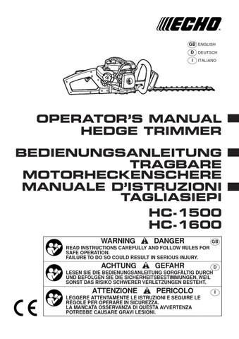 HC1500 MANUAL PDF