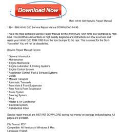1994 1995 infiniti g20 service repair manual download 94 95 by rh 1994 geo metro engine [ 1159 x 1499 Pixel ]
