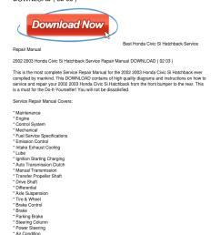 2002 2003 honda civic si hatchback service repair manual download by 2001 honda civic engine diagram [ 1159 x 1499 Pixel ]