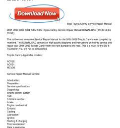2001 2006 toyota camry service repair manual download [ 1159 x 1499 Pixel ]