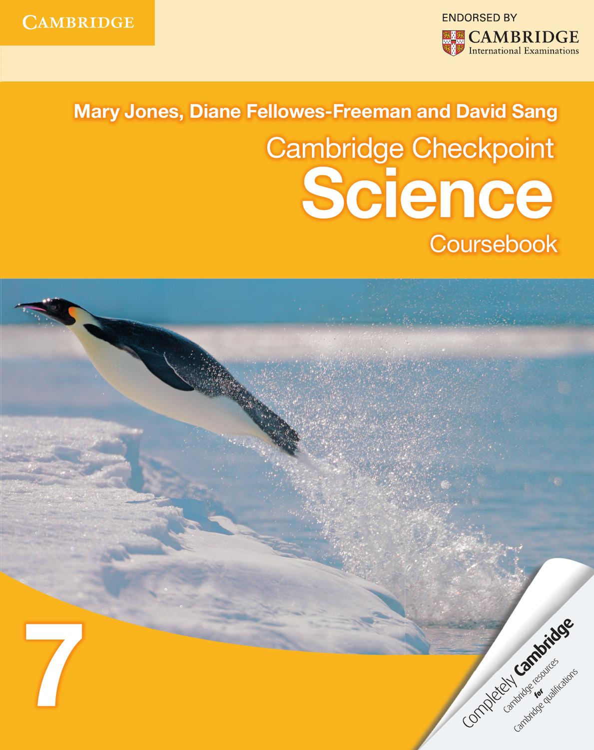 hight resolution of Cambridge Checkpoint Science Coursebook 7 by Cambridge University Press  Education - issuu
