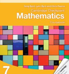 Cambridge Checkpoint Mathematics Coursebook 7 by Cambridge University Press  Education - issuu [ 1500 x 1189 Pixel ]
