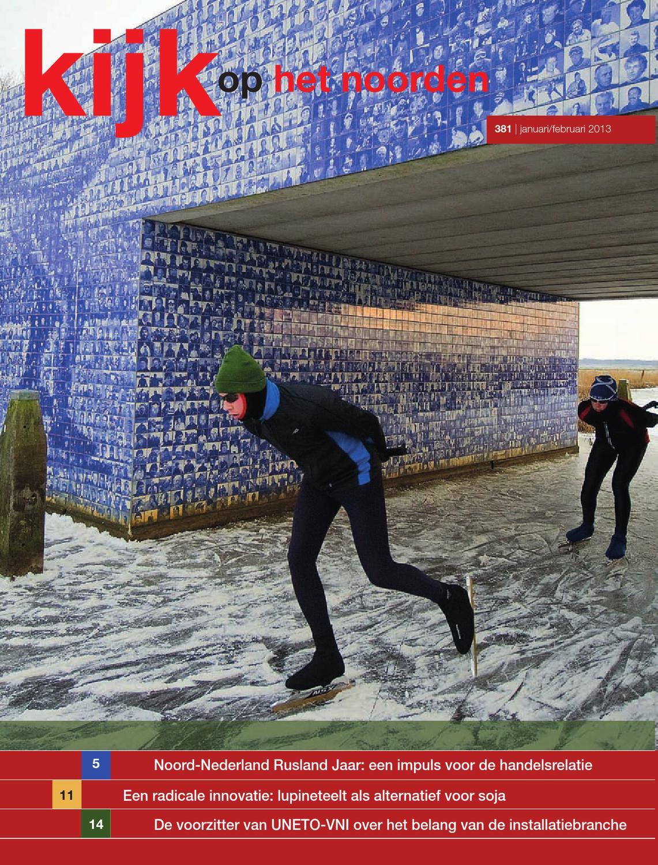 Kijk op het Noorden 2013 nummer 381 by Uitgeverij Novema
