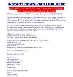 1996 subaru impreza impreza wrx workshop repair service manual best download [ 1060 x 1500 Pixel ]