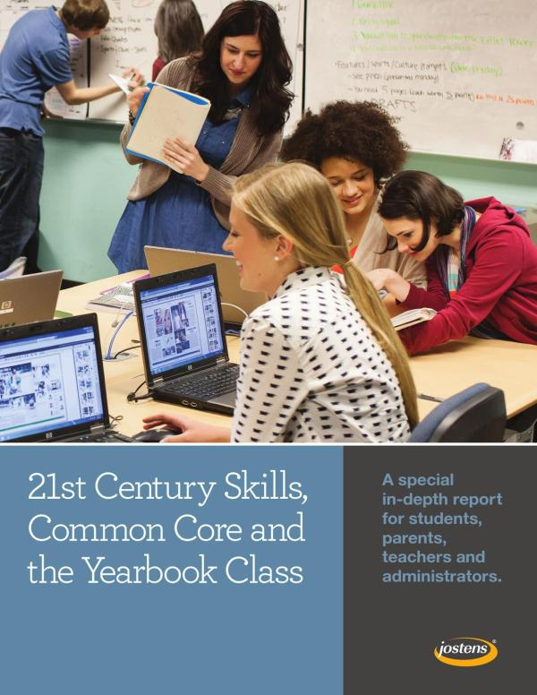 21st Century Skills Common Core And Yearbook Class